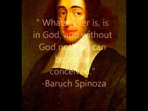 Who or what is the God of Spinoza ?