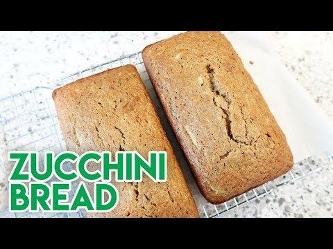 SHARING A FAMILY RECIPE! 🥒 ZUCCHINI BREAD ☀ GREAT SUMMER RECIPE!
