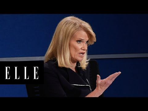 8 Times Martha Raddatz Kept the Second Debate From Going Off the Rails | ELLE