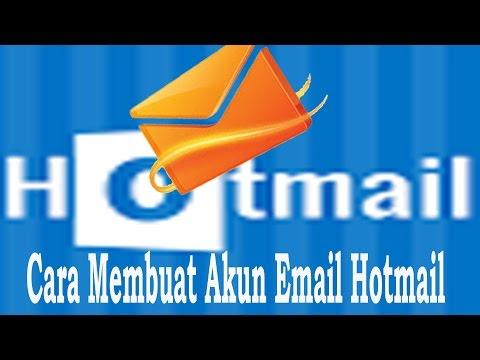 Cara Membuat Akun Email Hotmail - Microsoft Akun