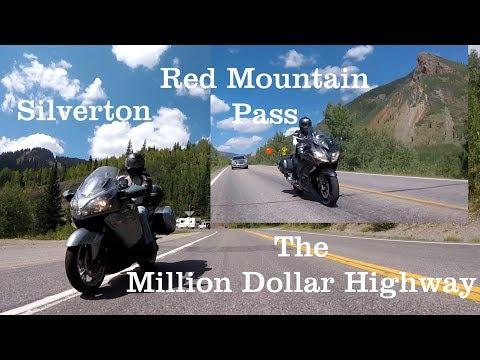 Silverton-Red Mountain Pass:Kawasaki Concours 14 / Yamaha FJR1300 Amazing Chase and Scenery
