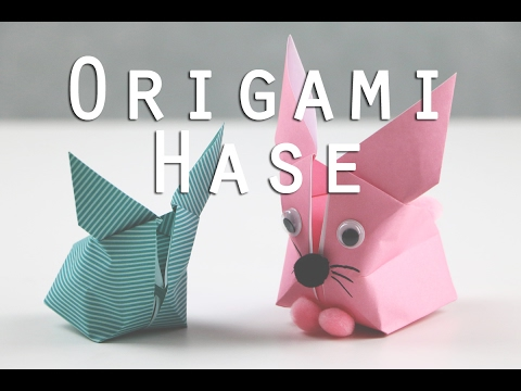 origami hase faltanleitung youtube. Black Bedroom Furniture Sets. Home Design Ideas
