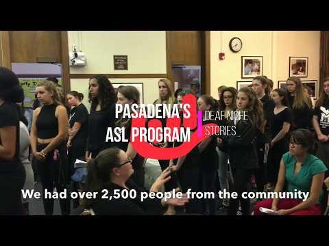 Pasadena s ASL Program Declared To Continue