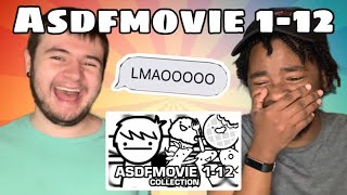 asdfmovie 1-12 (Complete Collection) REACTION