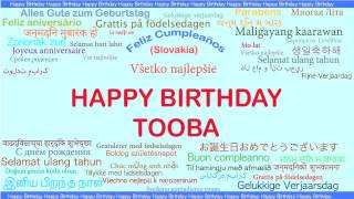 Tooba   Languages Idiomas - Happy Birthday