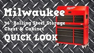 "Video Milwaukee 46"" Rolling Steel Storage Tool Chest and Cabinet 48-22-8500 Quick Look download MP3, 3GP, MP4, WEBM, AVI, FLV Juni 2018"