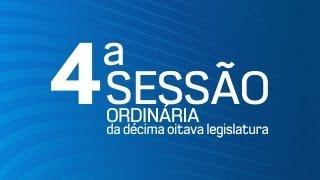 04ª Sessão Ordinária da Décima Oitava Legislatura