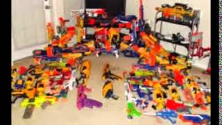 Stanley's nerf arsenal (The best ) Most guns ever in youtube ...