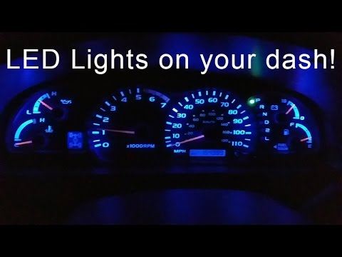 How To Install Led Lights In Your Dash Youtube