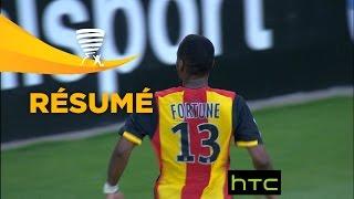 RC Lens - AC Ajaccio (3-0)  (1er tour) - Résumé - (RCL - ACA) / 2016-17