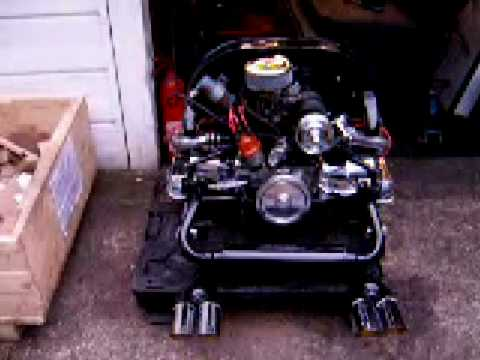 1300cc Vw Volkswagen Beetle Rail Trike Buggy Chrome Engine