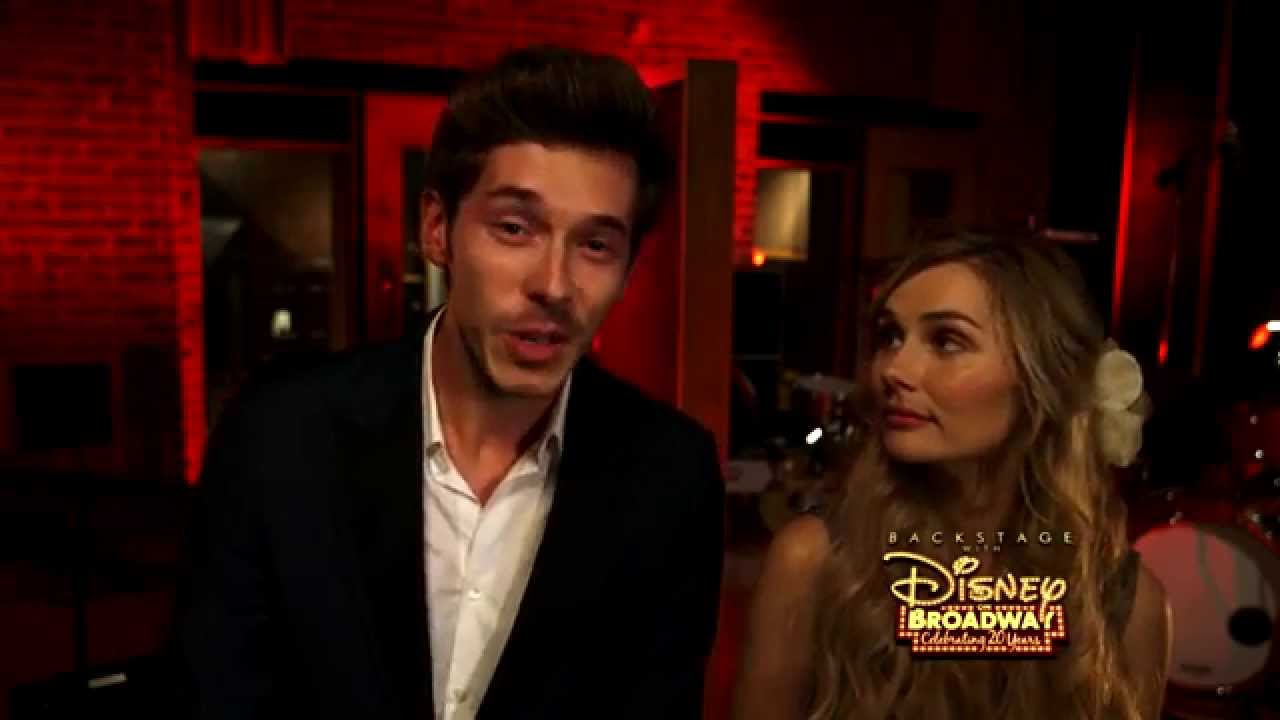 Sam Palladio & Clare Bowen | Backstage with Disney On Broadway: Celebrating 20 Years
