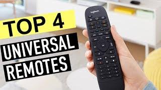 BEST 4: Universal Remotes 2019