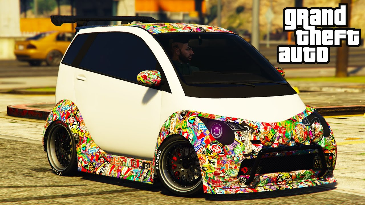 Benefactor PANTO Review & Best Customization GTA 5 Online Smart Fortwo SMALLEST CAR ? NEW!