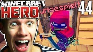KRIEG GEGEN UNGESPIELT | Minecraft HERO #44