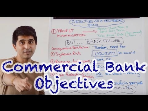 Objectives of a Commercial Bank - Profit, Liquidity, Security