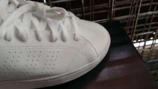 tompelstore adidas neo advantage full white