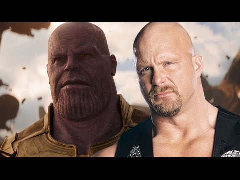 Thanos Enters like Stone Cold Steve Austin [HD]