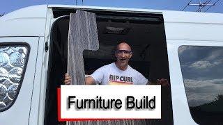 Mercedes Sprinter Campervan - Furniture Build - Part 1