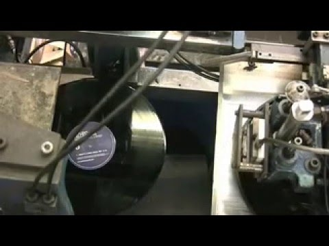 Inside Vinyl Factory Manufacturing