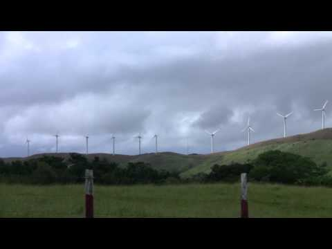 Wind Turbines in Arenal, Costa Rica