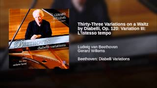 Thirty-Three Variations on a Waltz by Diabelli, Op. 120: Variation III: L