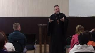 Смотреть видео 2018.05.19 Проповедь архиепископа Сергея Журавлева в Санкт-Петербурге.
