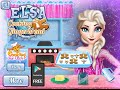 Disney Frozen Elsa Real Cooking Games For Children | baby games | Frozen games