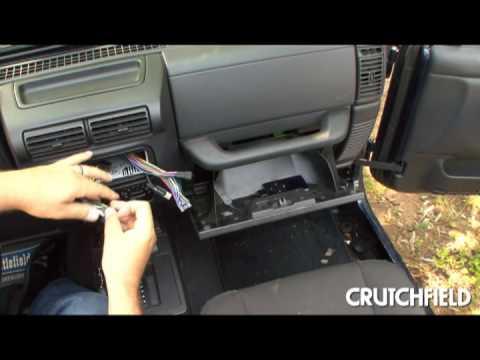 installing the alpine ktp445 power pack  crutchfield video