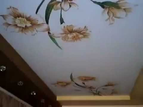 Натяжные потолки -  фото печать