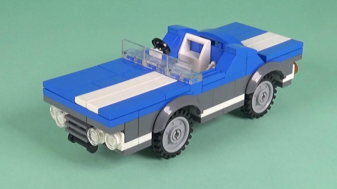 LEGO Car (024) Building Instructions - LEGO Bricks How To Build - DIY