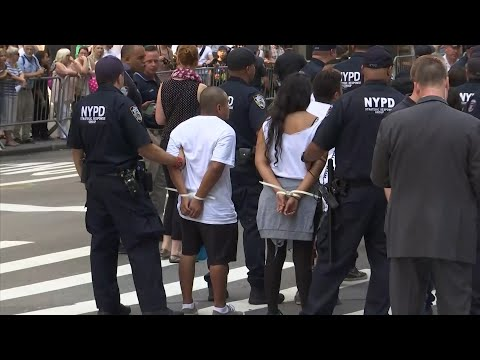 Pro-DACA Protesters Arrested at Trump Tower