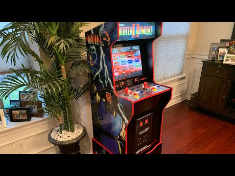 MIDWAY LEGACY CABINET Arcade1up FULL REVIEW! from The 3rd Floor Arcade with Jason