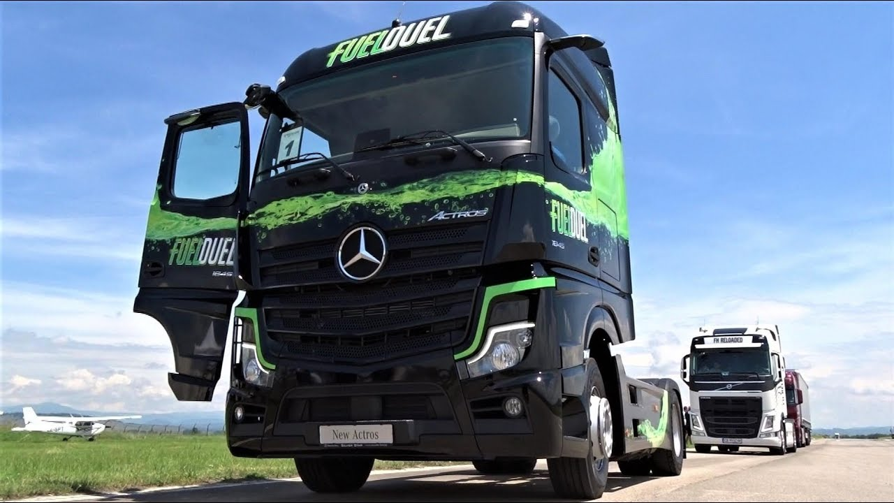 NEW Mercedes Actros 2019 - High Tech Tractor Truck - Interior, Exterior,  Test Drive