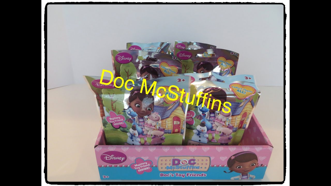 Doc Mcstuffins Pvc Figures Blind Bag Mystery Toys Opening