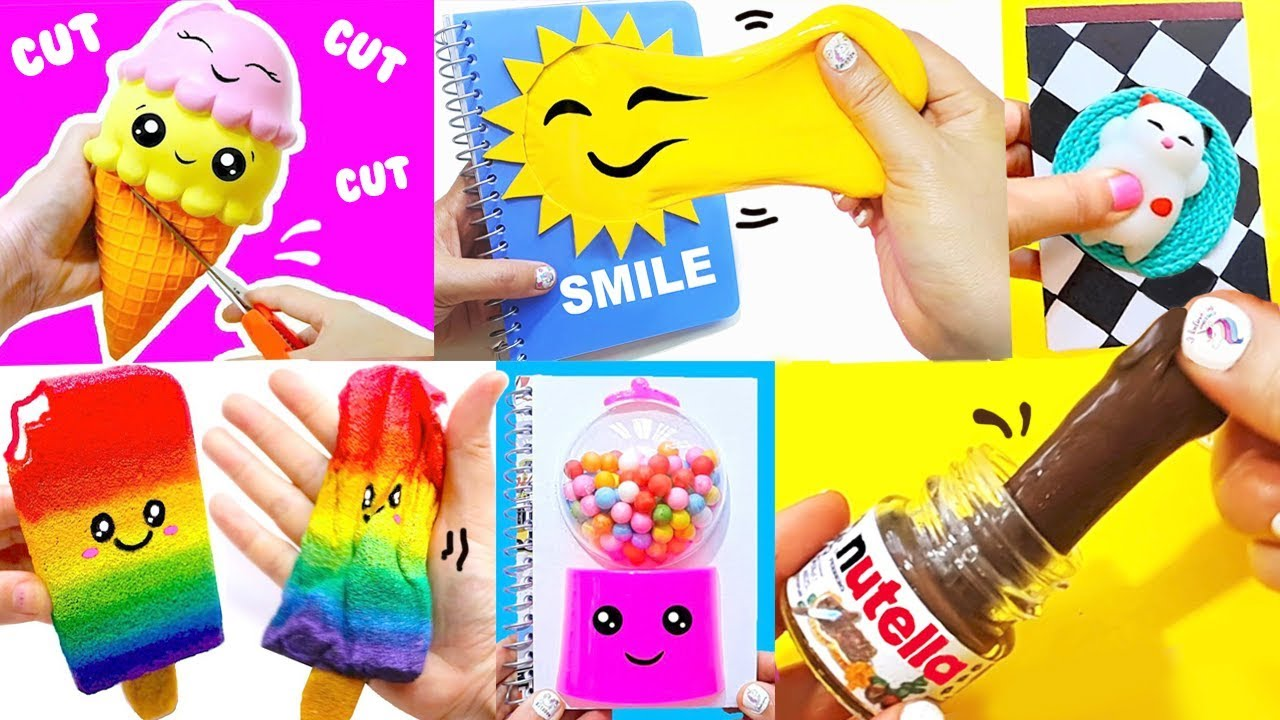 15 Diy School Supplies Stress Relievers Easy Cute Back To School Projects 1