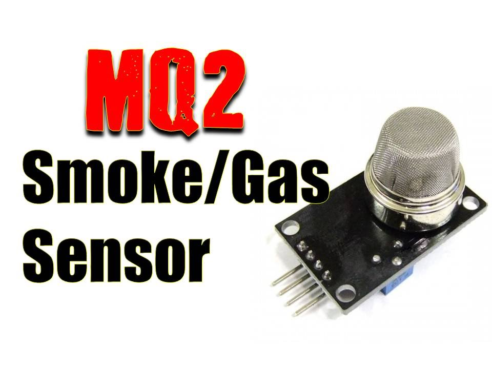 Smoke & Gas Sensor for Electronics Projects- MQ2