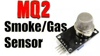Smoke & Gas Sensor for Electronics Projects- MQ2