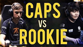 ROOKIE vs CAPS | The battle for world's BEST MID