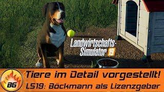 LS19 - Hund, Pferde, Kühe & mehr! | Tiere im Detail vorgestellt! | FS19 Gameplay Trailer [HD]