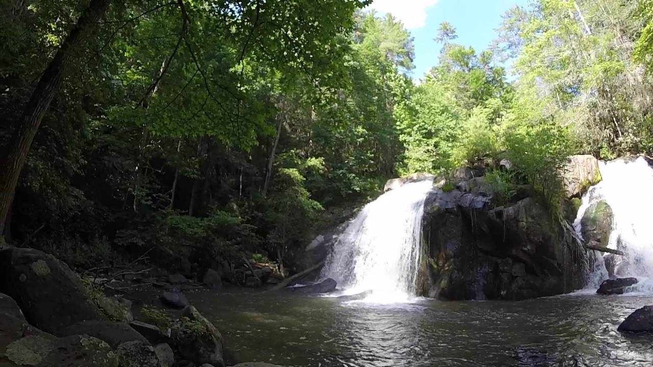 Turtletown Falls in Cherokee National Forest - YouTube