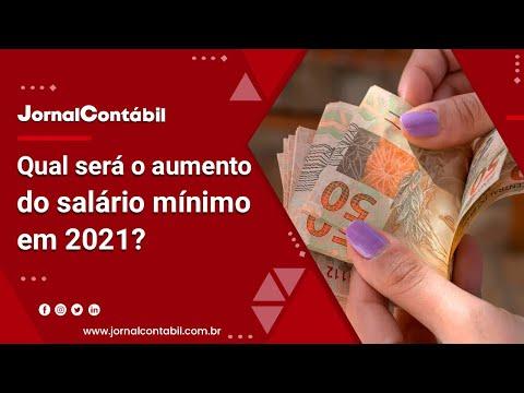 Qual será o aumento do salário mínimo em 2021?