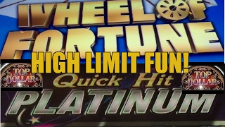 HIGH LIMIT SLOT MACHINE FUN WITH BOOTS AND RANDY(Like Vegas Slot Videos by Dianaevoni on Facebook: https://www.facebook.com/lasvegasslotvideos Live tweets from Vegas when I'm there at: ..., 2017-02-15T10:37:26.000Z)