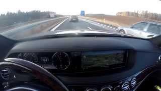 Let's Drive: Mercedes-Benz S 350 BlueTEC (W222) @ Fast Drive // 40 km German Autobahn
