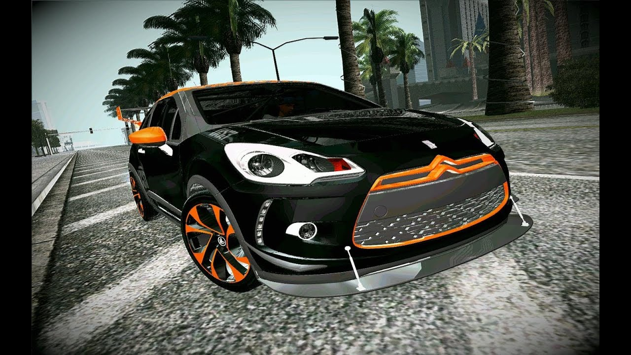 citroen ds3 tuning gta san andreas car mod youtube. Black Bedroom Furniture Sets. Home Design Ideas