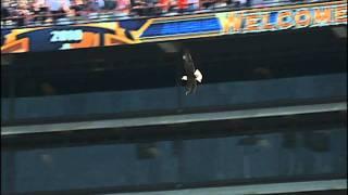 "Auburn eagle ""Spirit"" crashes into luxury box window in pregame flight"