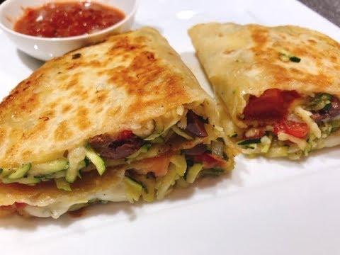 Zucchini Quesadillas-Fast, Flavorful & Frugal!