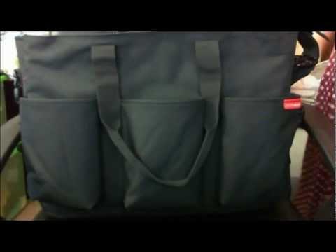 HunnyBunni.Com Reviews - Skip Hop Duo Double Deluxe Diaper Bag