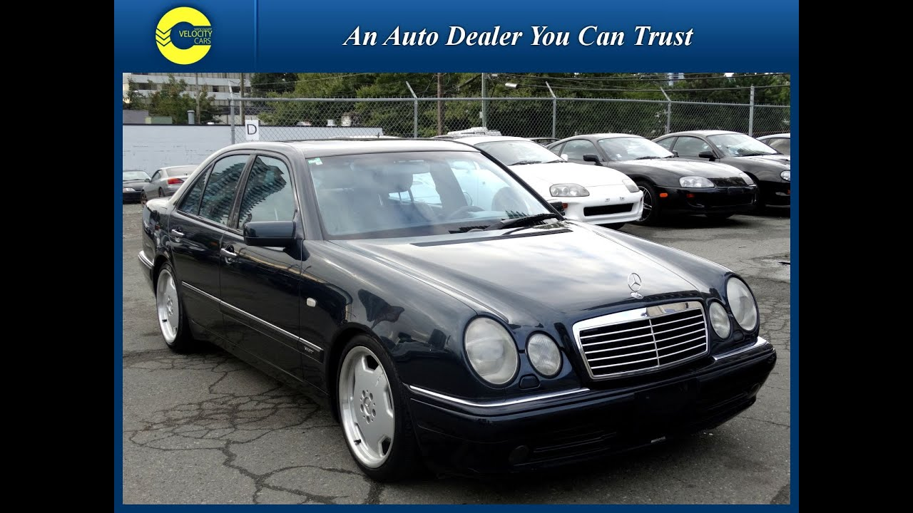 1999 mercedes benz e class e55 amg v8 5 5l only 109k 39 s for sale in vancouver youtube. Black Bedroom Furniture Sets. Home Design Ideas