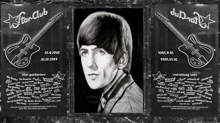 تعليم رسم البورتريه George Harrison Portrait Drawing Beatles